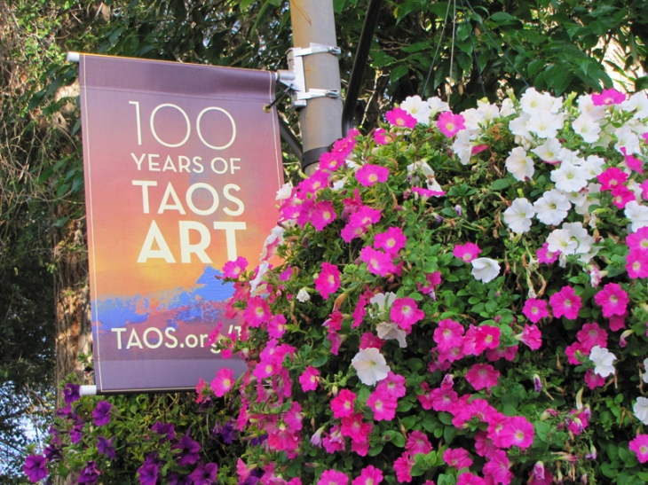 Bright, colorful and very expensive, that's Taos.